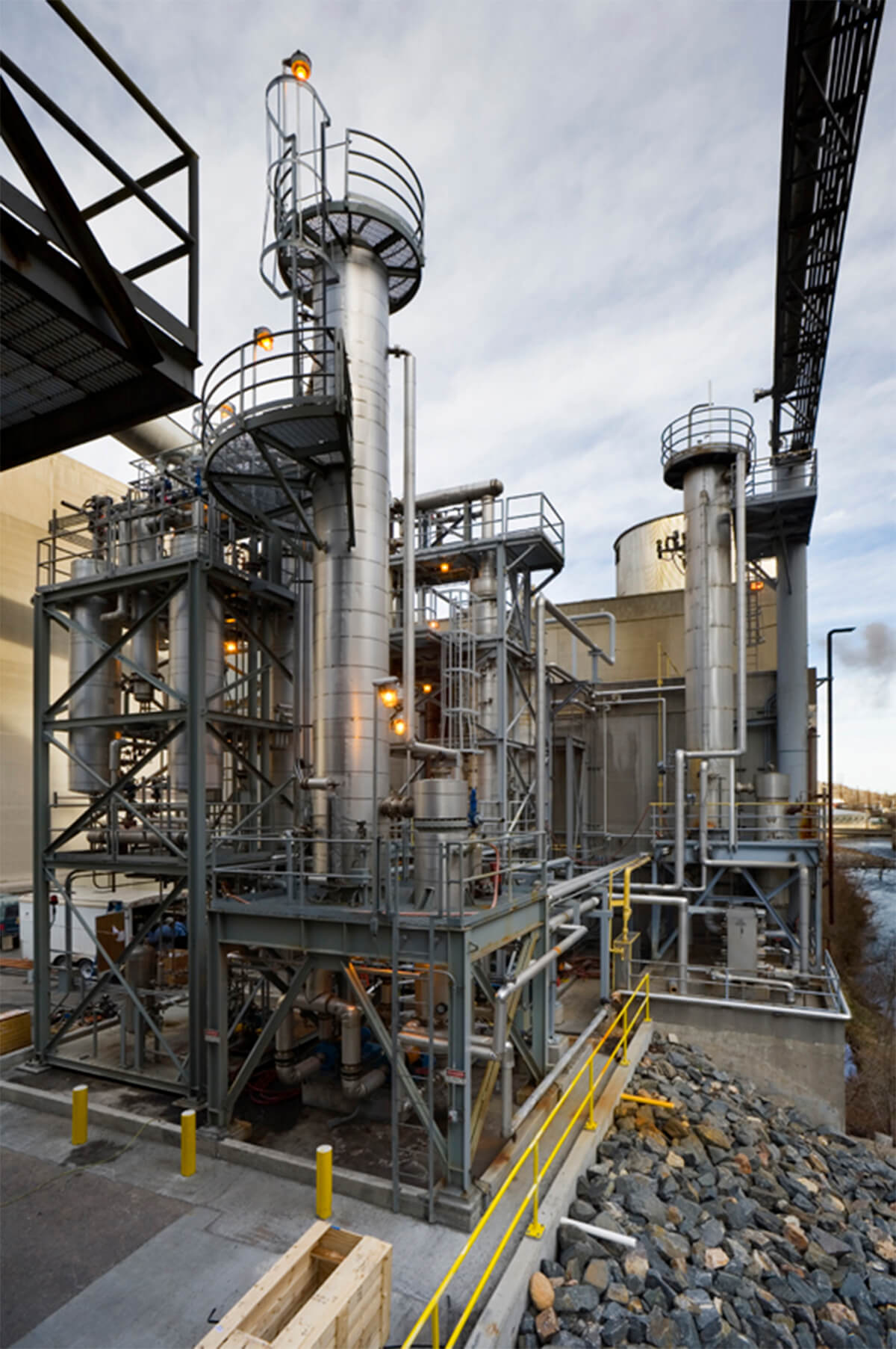 Merrick Ethanol plant at Coors, Golden, Colorado